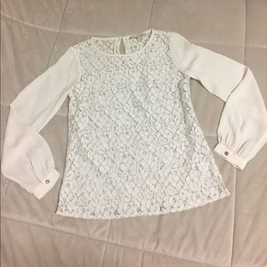 Banana Republic lace blouse